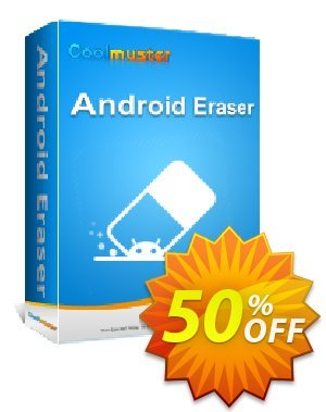 Coolmuster Android Eraser - Lifetime License(16-20PCs) 優惠券,折扣碼 affiliate discount,促銷代碼: