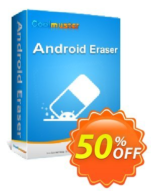 Coolmuster Android Eraser - Lifetime License(21-25PCs) Coupon discount Affiliate 50% OFF. Promotion:
