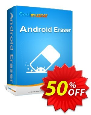 Coolmuster Android Eraser - 1 Year License (5 PCs) discount coupon affiliate discount -