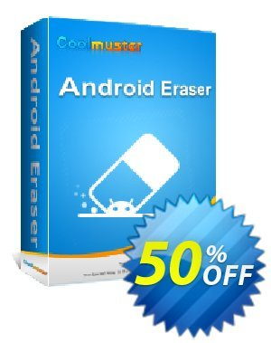 Coolmuster Android Eraser - 1 Year License(6-10PCs) Coupon discount affiliate discount. Promotion: