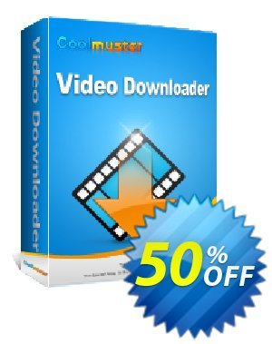 Coolmuster Video Downloader Coupon discount 50% off promotion -
