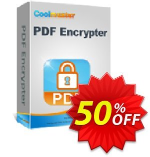 Coolmuster PDF Encrypter for Mac Coupon discount 50% off promotion -
