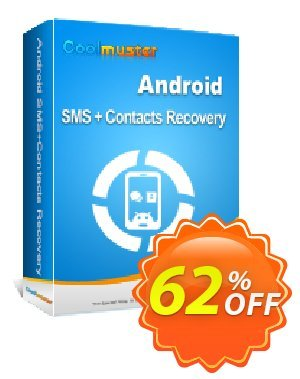 Coolmuster Android SMS+Contacts Recovery 优惠码 Affiliate 50% OFF. 销售折让: