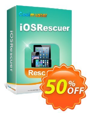 Coolmuster iOSRescuer Coupon, discount Affiliate 50% OFF. Promotion: