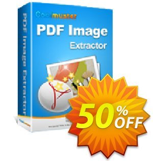 Coolmuster PDF Image Extractor Coupon, discount Affiliate 50% OFF. Promotion: