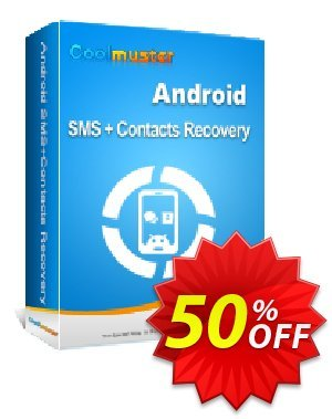 Coolmuster Android SMS+Contacts Recovery - Lifetime (3 Devices, 3 PCs) 優惠券,折扣碼 affiliate discount Coolmuster,促銷代碼: