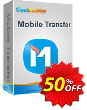 Coolmuster Mobile Transfer for Mac - 1 Year (25 PCs) discount coupon affiliate discount -