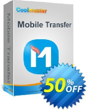 Coolmuster Mobile Transfer for Mac - 1 Year (26-30PCs) 優惠券,折扣碼 affiliate discount,促銷代碼:
