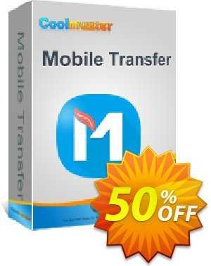 Coolmuster Mobile Transfer for Mac - Lifetime (21-25PCs) Coupon discount affiliate discount. Promotion: