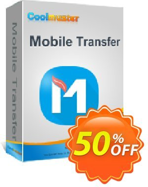 Coolmuster Mobile Transfer for Mac - 1 Year (2-5PCs) Coupon, discount affiliate discount. Promotion: