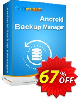 Coolmuster Android Backup Manager discount coupon 67% OFF Coolmuster Android Backup Manager, verified - Special discounts code of Coolmuster Android Backup Manager, tested & approved