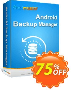 Coolmuster Android Backup Manager - 1 Year License (5 PCs) Coupon, discount 50% OFF Coolmuster Android Backup Manager - 1 Year License (5 PCs), verified. Promotion: Special discounts code of Coolmuster Android Backup Manager - 1 Year License (5 PCs), tested & approved