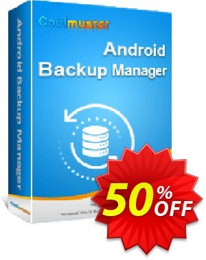 Coolmuster Android Backup Manager - Lifetime License (5 PCs) discount coupon 50% OFF Coolmuster Android Backup Manager - Lifetime License (5 PCs), verified - Special discounts code of Coolmuster Android Backup Manager - Lifetime License (5 PCs), tested & approved