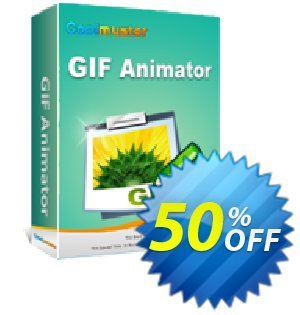 Coolmuster GIF Animator Coupon, discount 50% off promotion. Promotion: