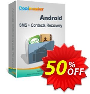 Coolmuster Android SMS+Contacts Recovery (Mac) Coupon discount 50% off promotion -