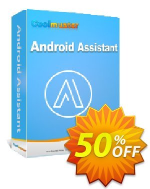 Coolmuster Android Assistant - 1 Year License(16-20PCs) Coupon, discount Affiliate 50% OFF. Promotion: