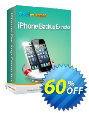 Coolmuster iPhone Backup Extractor Coupon discount 50% off promotion. Promotion: