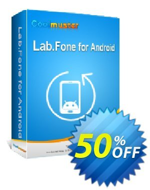 Coolmuster Lab.Fone for Android Lifetime (9 Devices, 3 PCs) Coupon, discount affiliate discount. Promotion: