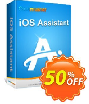 Coolmuster iOS Assistant - 1 Year License(1 PC) Coupon, discount Affiliate 50% OFF. Promotion: