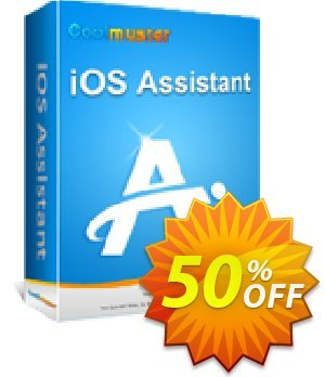 Coolmuster iOS Assistant - 1 Year License(2-5PCs) 優惠券,折扣碼 affiliate discount,促銷代碼: