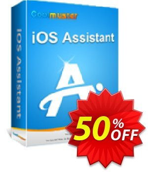 Coolmuster iOS Assistant - 1 Year License(11-15PCs) Coupon, discount Affiliate 50% OFF. Promotion: