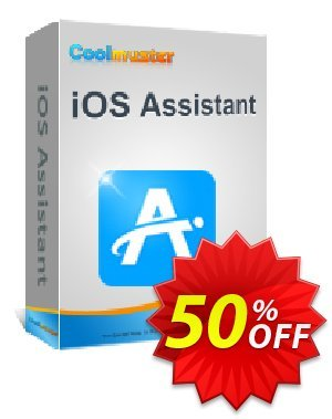 Coolmuster iOS Assistant  for Mac - Lifetime License(2-5PCs) Coupon, discount Affiliate 50% OFF. Promotion: