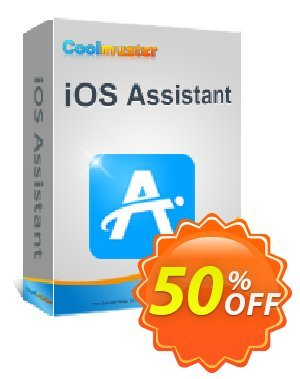 Coolmuster iOS Assistant  for Mac - Lifetime License(16-20PCs) Coupon, discount 50% off promotion. Promotion: