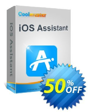 Coolmuster iOS Assistant   for Mac - Lifetime License(26-30PCs) Coupon, discount 50% off promotion. Promotion: