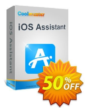 Coolmuster iOS Assistant for Mac - 1 Year License(1 PC) Coupon, discount 50% off promotion. Promotion: