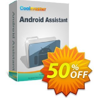 Coolmuster Android Assistant for Mac - 1 Year License(11-15PCs) Coupon, discount Affiliate 50% OFF. Promotion: