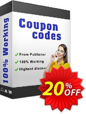 IronPDF Project License Coupon, discount 20% bundle discount. Promotion:
