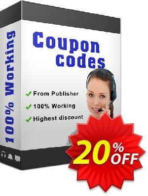 IronPDF Organization License Coupon, discount 20% bundle discount. Promotion:
