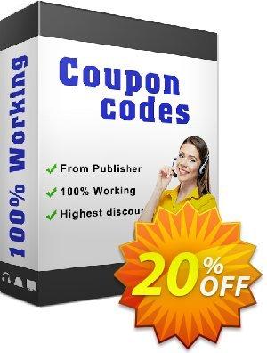 IronOCR Organization License Coupon discount 20% bundle discount. Promotion: