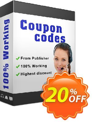 IronBarcode SaaS License 優惠券,折扣碼 20% bundle discount,促銷代碼: 20% discount for purchasing 2 products together as a bundle