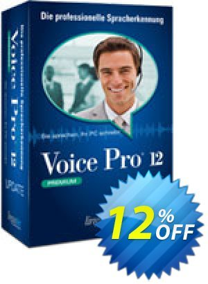 Update Voice Pro 12 Premium (ohne Headset) Coupon, discount Coupon code Update Voice Pro 12 Premium (ohne Headset). Promotion: Update Voice Pro 12 Premium (ohne Headset) offer from Linguatec