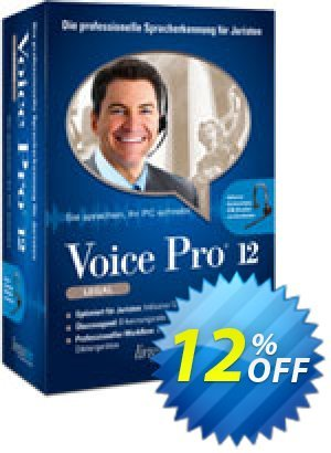 Voice Pro 12 Legal Coupon, discount Coupon code Voice Pro 12 Legal. Promotion: Voice Pro 12 Legal offer from Linguatec