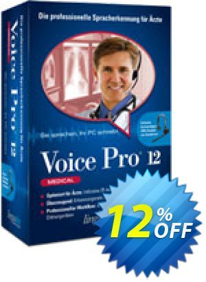 Voice Pro 12 Medical Coupon, discount Coupon code Voice Pro 12 Medical. Promotion: Voice Pro 12 Medical offer from Linguatec