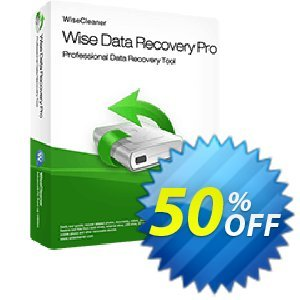 Wise Data Recovery Pro Coupon, discount 50% OFF Wise Data Recovery Pro, verified. Promotion: Fearsome discounts code of Wise Data Recovery Pro, tested & approved