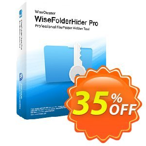 Wise Folder Hider Pro Coupon discount 35% OFF Wise Folder Hider Pro, verified. Promotion: Fearsome discounts code of Wise Folder Hider Pro, tested & approved