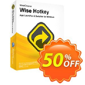 Wise HotKey割引コード・Wisecleaner offer code (50379) キャンペーン:Wisecleaner coupon code (50379)