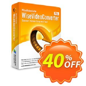 Wise Video Converter Pro 優惠券,折扣碼 40% OFF Wise Video Converter Pro, verified,促銷代碼: Fearsome discounts code of Wise Video Converter Pro, tested & approved