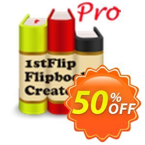 1stFlip Flipbook Creator Pro for Mac discount coupon 50% Off Pro -