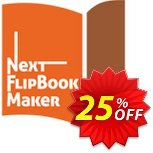 Next FlipBook Maker Pro Coupon, discount 25% OFF Next FlipBook Maker Pro for Windows Oct 2021. Promotion: Excellent deals code of Next FlipBook Maker Pro for Windows, tested in October 2021