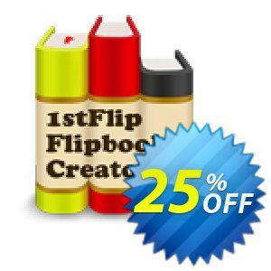1stFlip Flipbook Creator 優惠券,折扣碼 1stFlip discount 52083,促銷代碼: