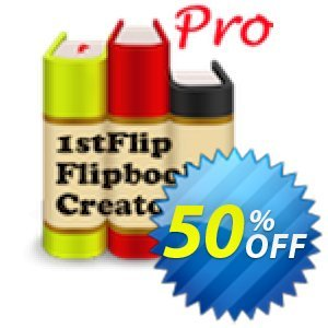 1stFlip Flipbook Creator Pro Coupon discount 50% Off Pro. Promotion: