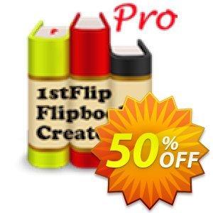 1stFlip Flipbook Creator Pro discount coupon 50% Off Pro -