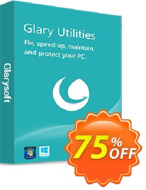 Glary Utilities PRO Coupon, discount 75% OFF. Promotion: