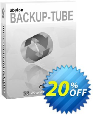 abylon BACKUP-TUBE Coupon, discount 20% OFF abylon BACKUP-TUBE, verified. Promotion: Big sales code of abylon BACKUP-TUBE, tested & approved