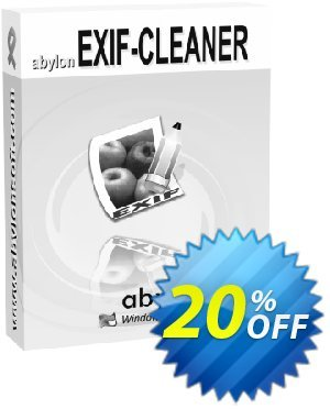 abylon EXIF-CLEANER 프로모션 코드 20% OFF abylon EXIF-CLEANER, verified 프로모션: Big sales code of abylon EXIF-CLEANER, tested & approved