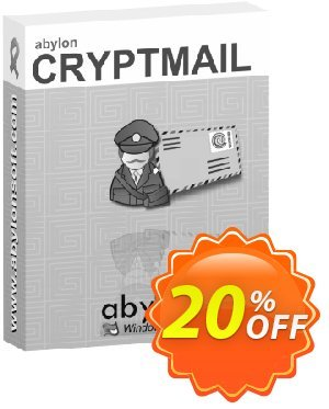 abylon CRYPTMAIL Coupon discount 20% OFF abylon CRYPTMAIL, verified. Promotion: Big sales code of abylon CRYPTMAIL, tested & approved